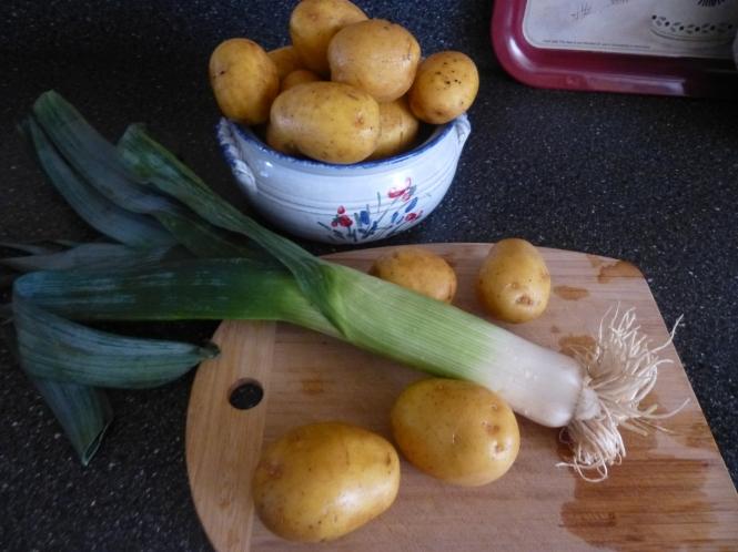Soupe De Jour -Potato Leek