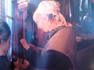 Tasha Tudo'rs hand knit shwla