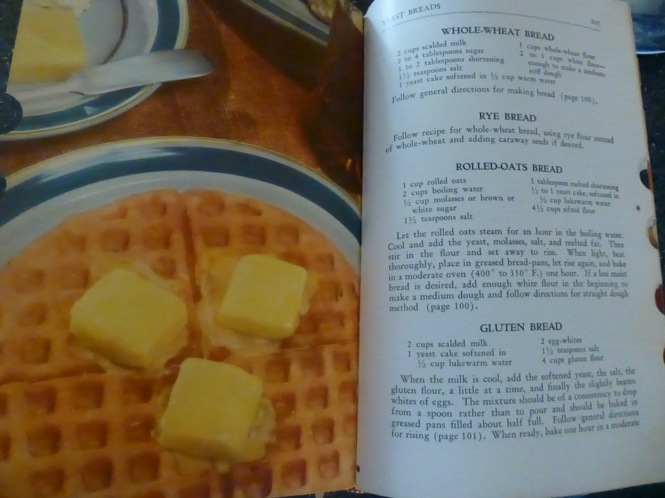 Vintage Breakfast foods.