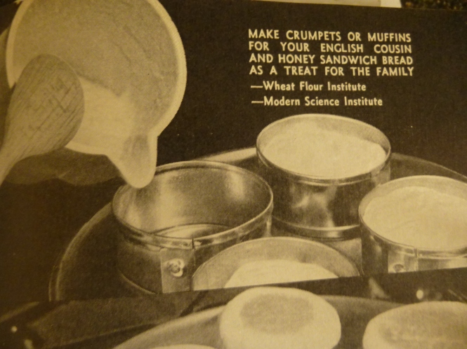 Vintage cookbook Photo from my Cookbook American Women Cookbook. Have you ever made english Muffins! I have - it was fun