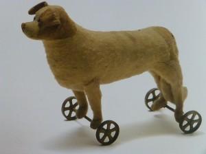 Tasha's antique pull toy