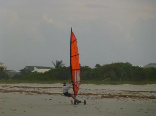 Wind boarding