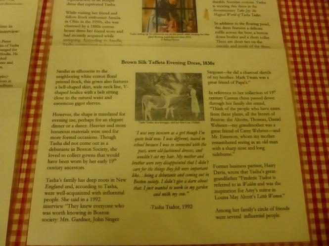 Tasha Tudor Birthday Celebration, Tasha Tudor Museum, Tasha Tudor's Dresses