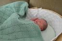 Emma's hand knit blanket
