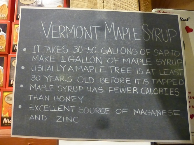 Vermont Maple Syrup, Vermont Country Store