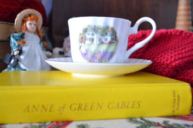 Anne of Green GablesTea time Prince edward Island red Seashres Matthews carriage ride Anne Of Green Gables Tea Prince Edward Island Lucy Maud Montgomery 150 Celebration Tea cups Green Gables Tea Anne Shawl Vintage Anne of Green Gables book