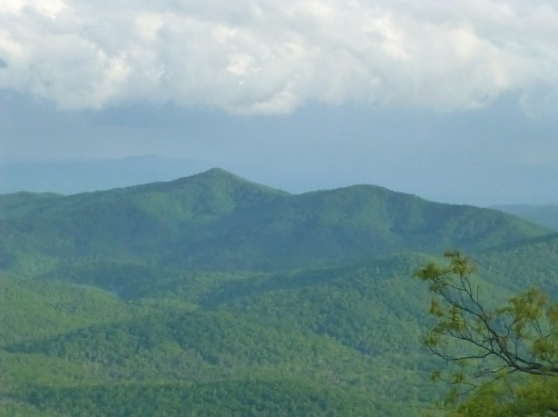 Mt Pisgah Camping on the blue Ridge Parkway Spring Toyota RV travels