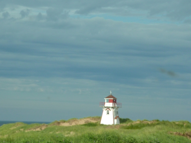 Light House on the shores of PEI