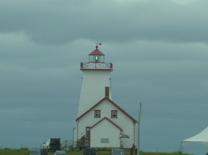 I wish I were rich, and I could spend the whole summer at a hotel, eating ice cream and chicken salad. ~ Diana Barry to Anne Shirley Light house on PEI