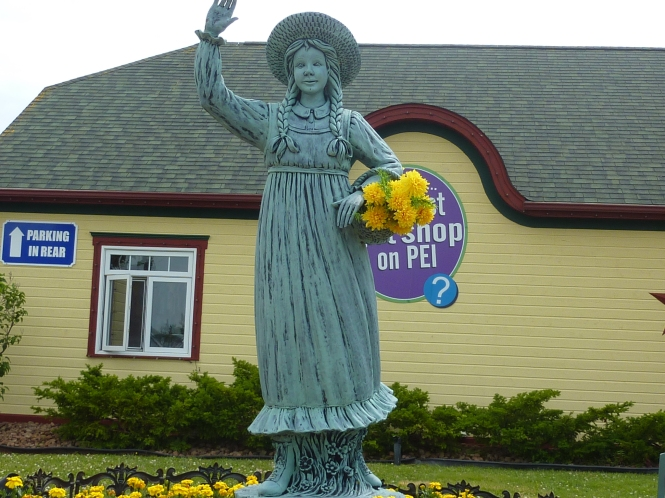 Entering PEI Anne of Green gables visitor center Visisting Prince Edward Island 150 Year Celebration Lucy Maud Montgomery quote Anne of Green gables Quote