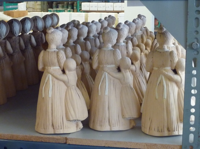 Ceramic Dolls, waiting to be painted