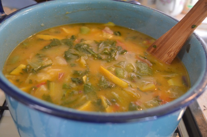 Harvest vegetable soup Fall is nigh fall poetry