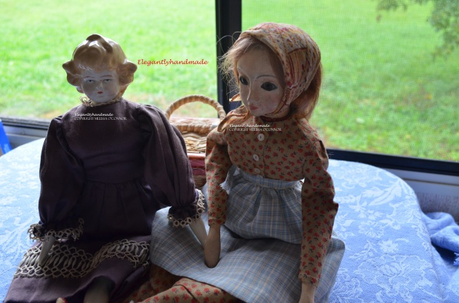 Tasha Tudor Dolls Tasha Tudor daughter Bethany Cottage Elegance Tasha Tudor style Kindred spirit shawl Doll collectors