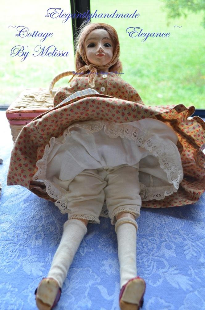 Lucindas petticoat Tasha Tudors handstitched doll clothing petticoats A Doll for Bethany Tasha Tudors handcrafted dolls Bethany Tudor cottage dolls