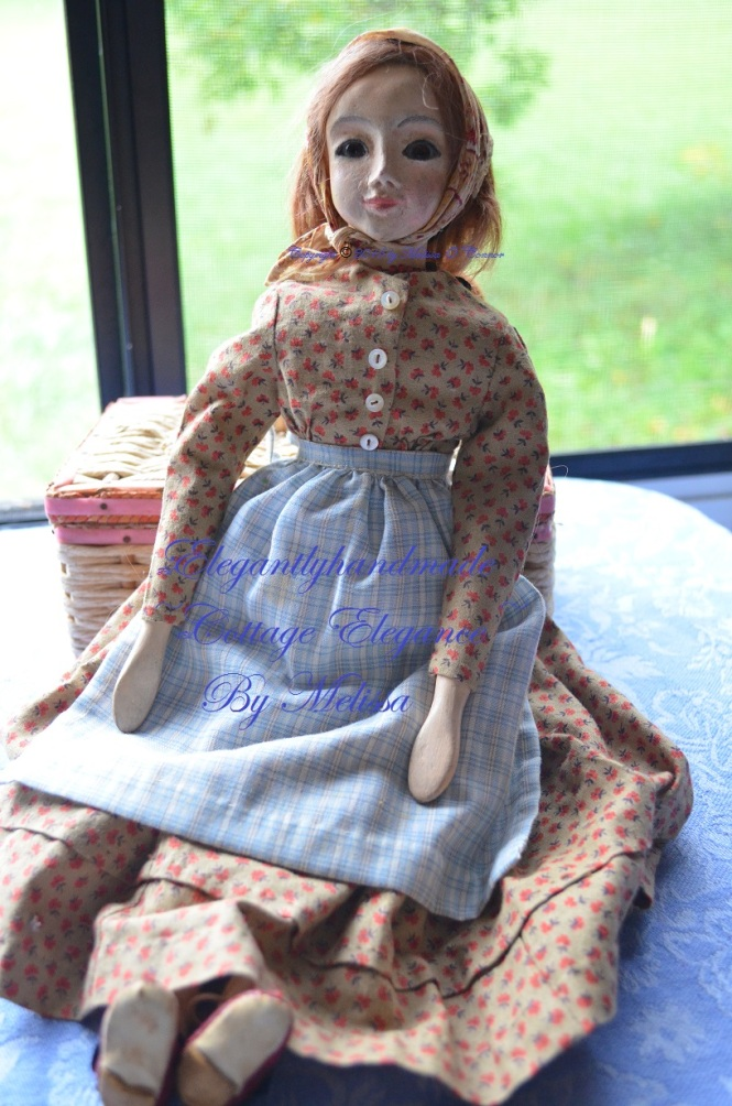 Bethany Tudors doll Lucinda Tasha Tudors dolls hand crafted dolls art dolls doll collectors elegant cottage elegantlyhandmade cottage elegance A Doll for Bethany
