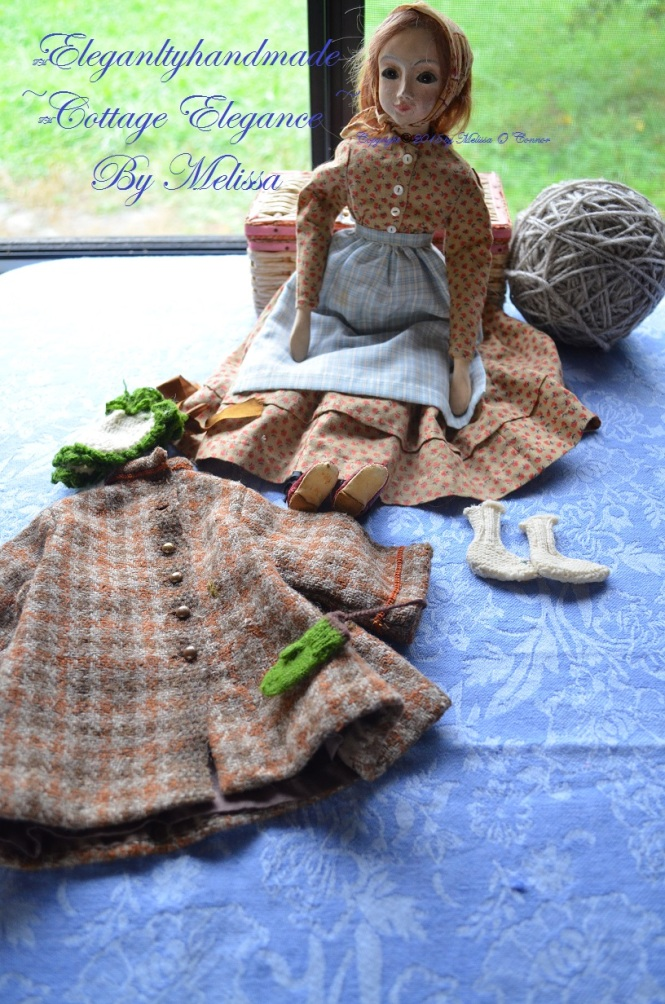A Doll for Bethany Tudor Bethanys Doll Lucinda Tasha Tudors world of dolls hand crafted doll cloths historic doll clothing elegant cottage dolls cottage elegance