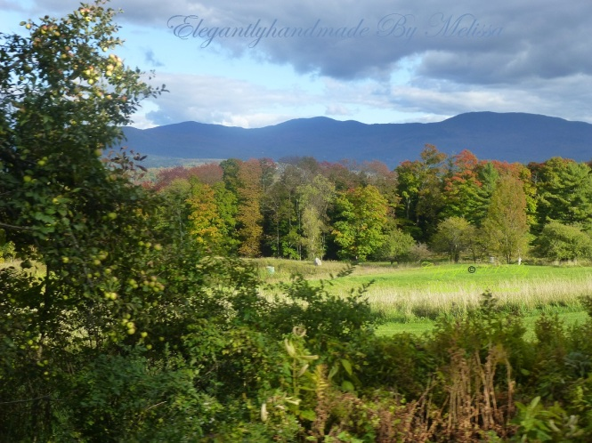 Poetry emily bronte leave peeping in VErmont Fall in New England Autumn leaves autumn mountains