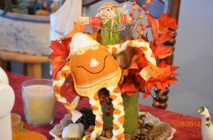 Etsy Fall autumn sale elegantlyhandmade etsy worldpress.com Fall Decor Handmade toys Candy Corn Man Autumn of my soul