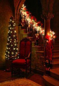 Victorian Christmas Home decor Victorian Hygg