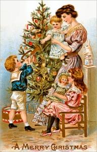 Celebrating Christmas Family gatherings comforts joy friendship hygge Victorian Christmas