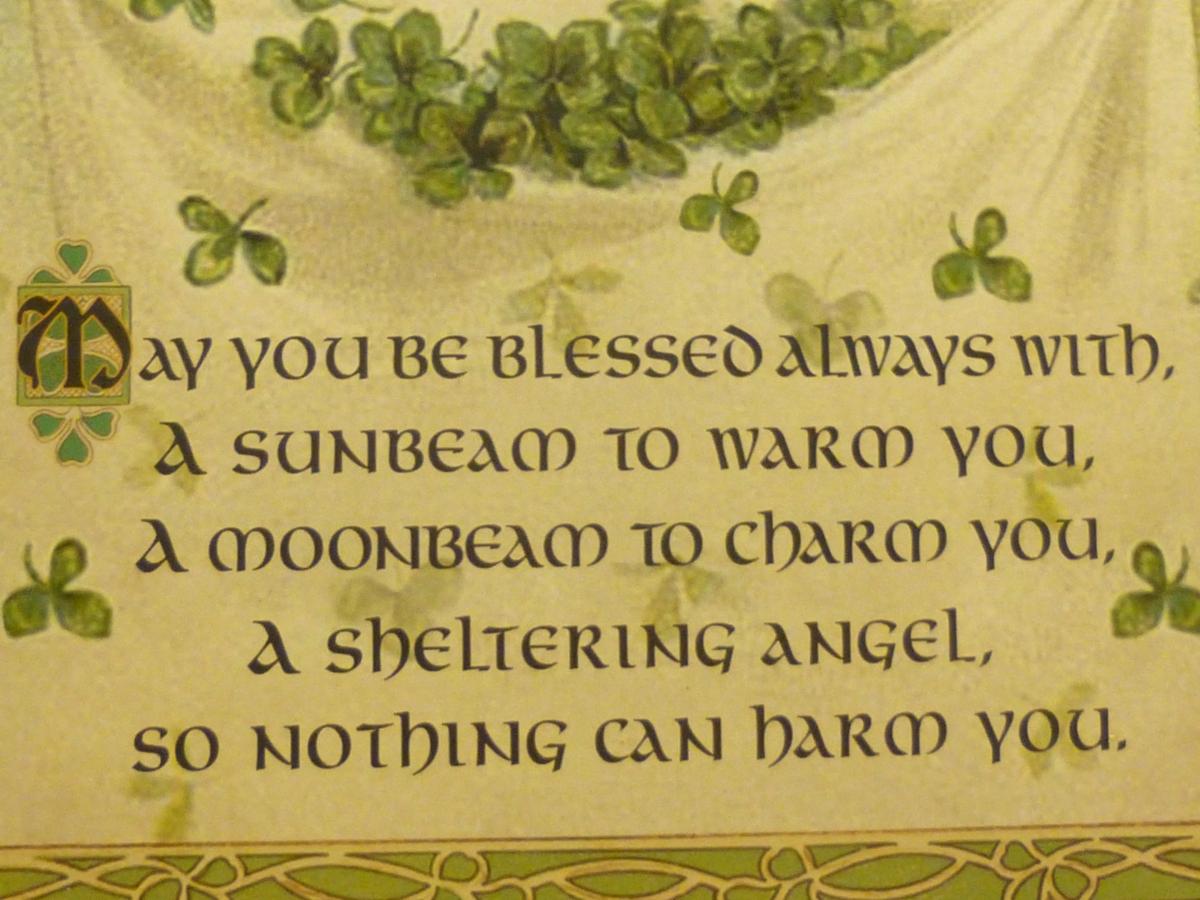 Irish Blessings First day of March Ash Wednesday Irish St Patricks Day Irish Potatoes Recipes