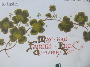 May the fairies Luck go with you Irish blessing Irish vintage movies elegantlyhandmade.wordpress.com