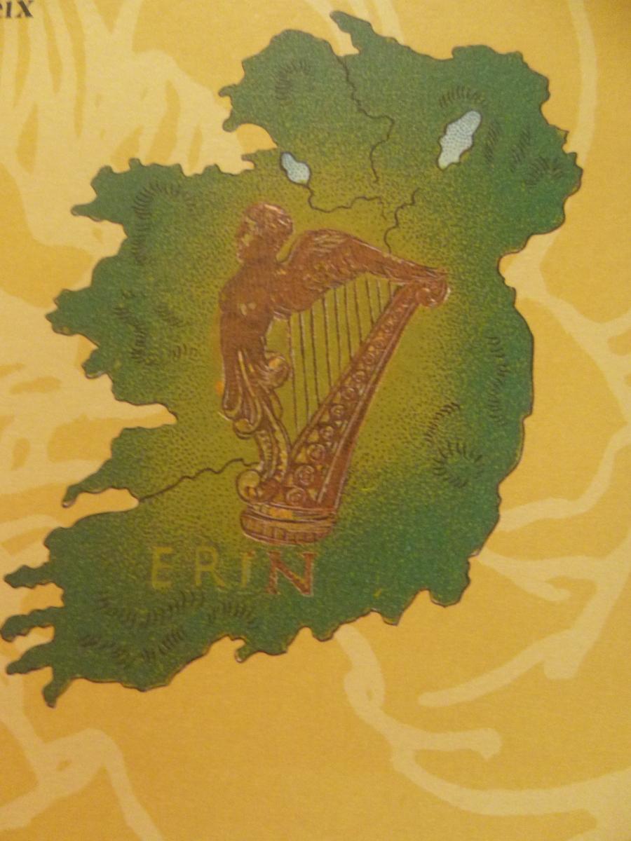 Ireland Indiana Erin emerald Isle An Irish Sketchbook foods of Ireland St Patricks Day