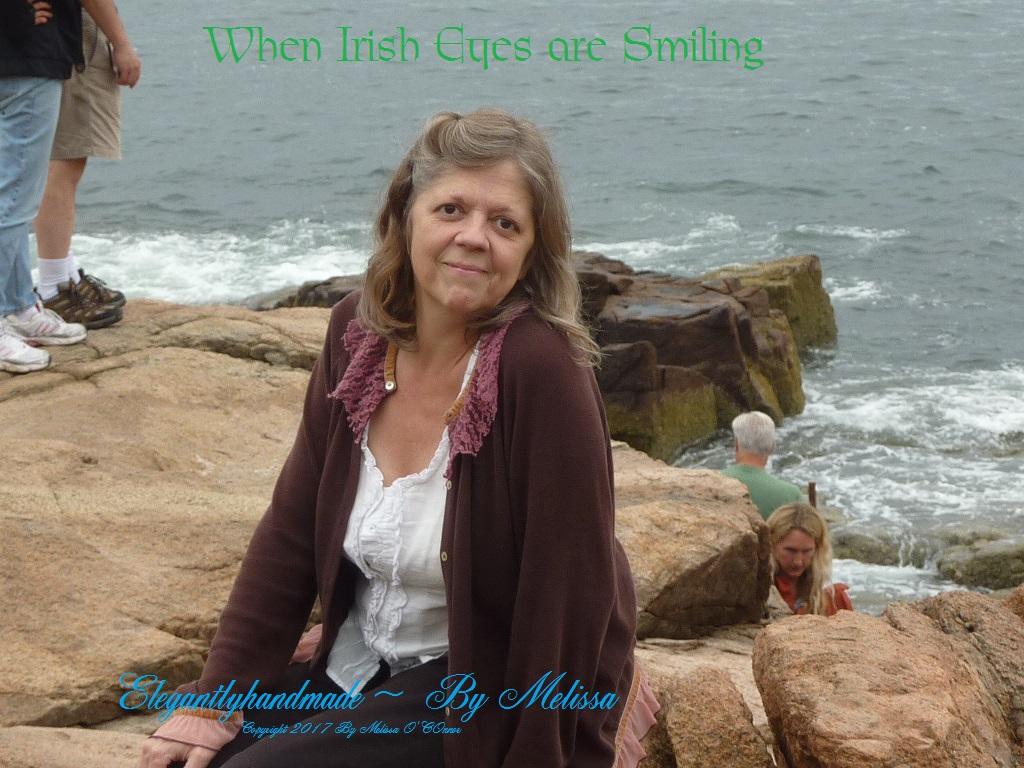 When Irish Eyes are Smiling Of Ireland Irish Heritage Ireland elegantlyhandmade by Melissa elegatnlyhandmade.wordpress.com